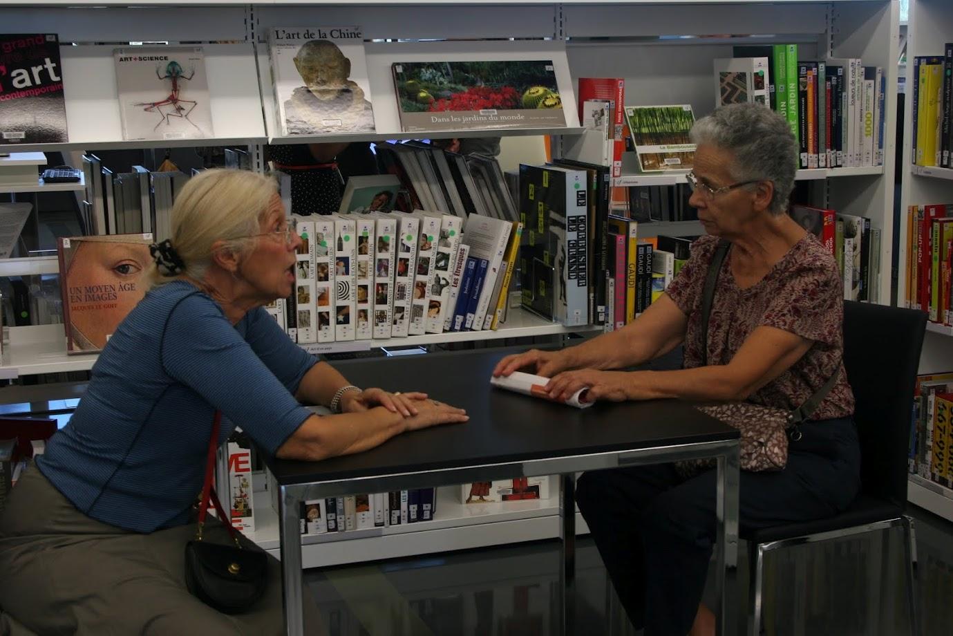 Seniors et bibliothéques