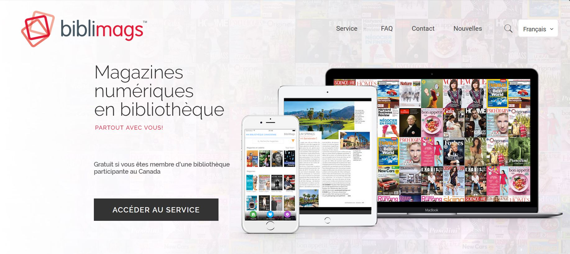 Canada : lancement de BiblioMags