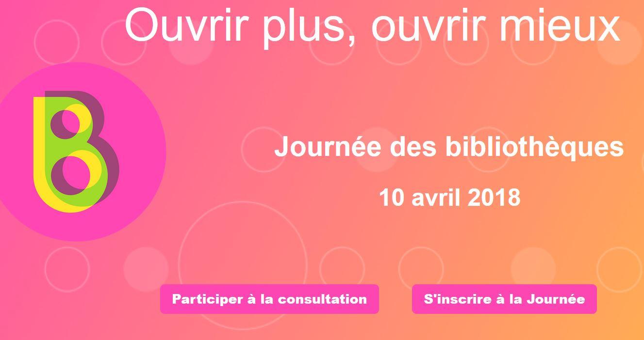 Journée des bibliothèques